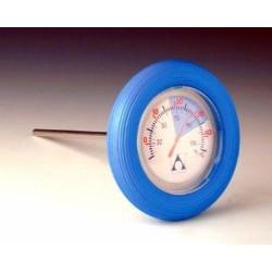 Thermomètre cylindrique flottant